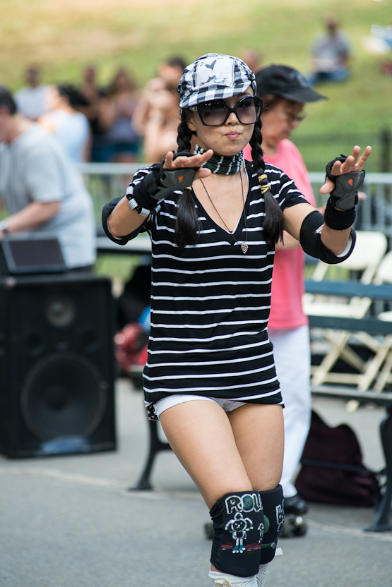 The Central Park Dance Skaters Association