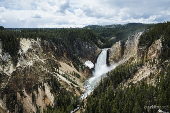 Yellowstone Falls, Yellowstone National Park, Wyoming