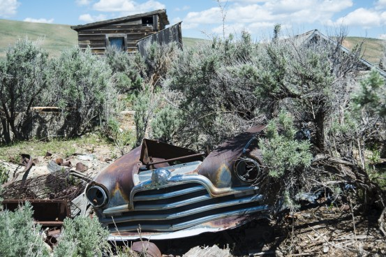 The Ghost Town, Sage, Wyoming
