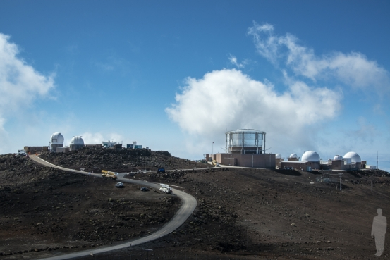 The Haleakalā Observatory on the island of Maui